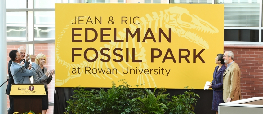 Rowan alumni Jean and Ric Edelman commit $25 million for University's Fossil Park